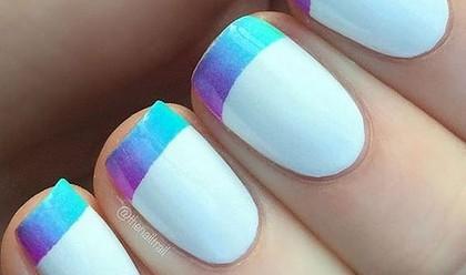 45 Awesome French Nail Art Designs